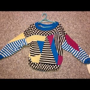 Vintage Sweaters - Vintage Colourful Sweater